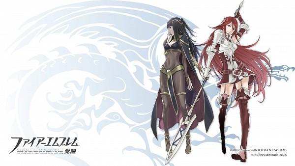 Tags: Anime, Kozaki Yuusuke, Fire Emblem: Kakusei, Sariya (Fire Emblem), Tiamo (Fire Emblem), HD Wallpaper, Official Art, Facebook Cover, Official Wallpaper, Wallpaper, Fire Emblem: Awakening