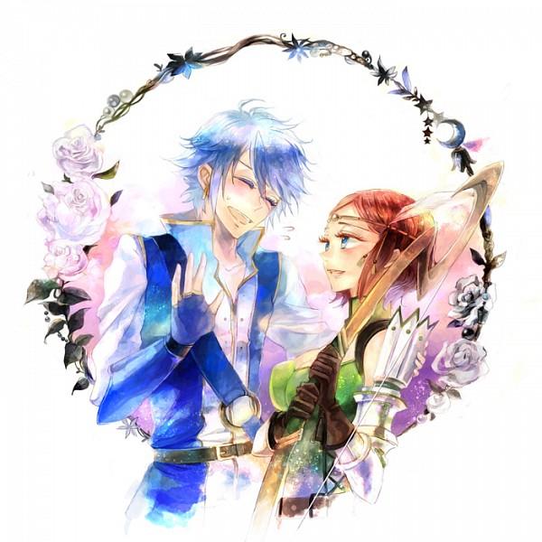 Tags: Anime, Kuzumosu, Fire Emblem: Kakusei, Noire (Fire Emblem), Azure (Fire Emblem), Pixiv, Fanart, Fanart From Pixiv, Fire Emblem: Awakening
