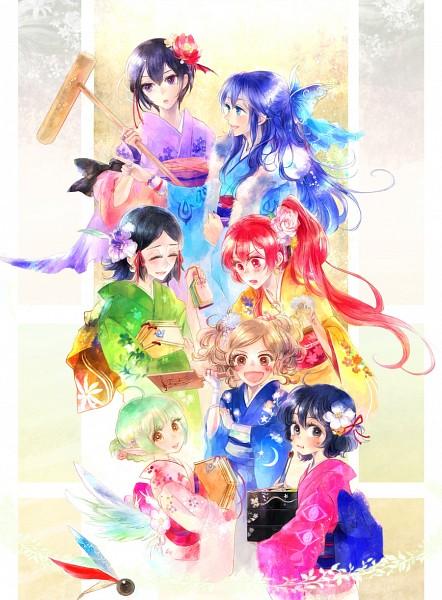 Tags: Anime, Kuzumosu, Fire Emblem: Kakusei, Cynthia (Fire Emblem), Marc (Female) (Fire Emblem), Nn (Fire Emblem), Selena (Fire Emblem), Lucina (Fire Emblem), Dezel, Noire (Fire Emblem), Fanart From Pixiv, Pixiv, Fanart, Fire Emblem: Awakening