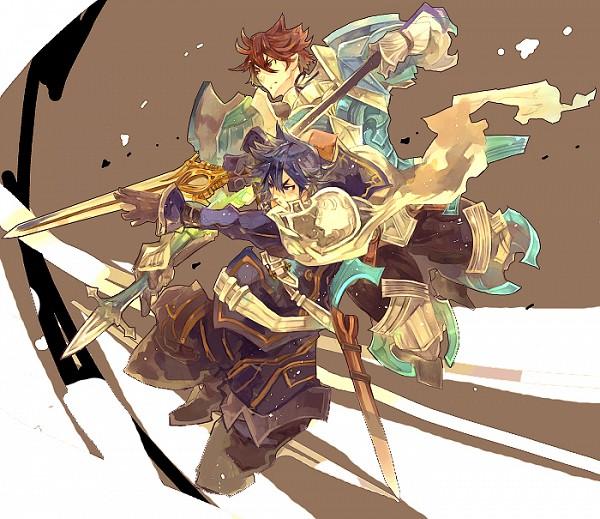 Tags: Anime, Pixiv Id 52543, Fire Emblem: Kakusei, Chrom (Fire Emblem), Frederik (Fire Emblem), Fire Emblem: Awakening