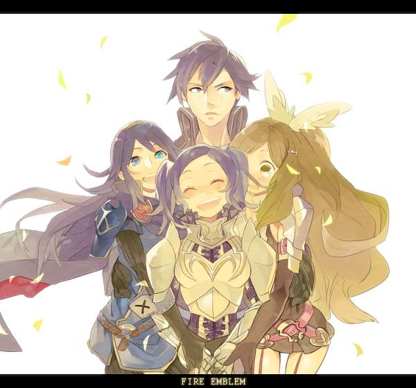 Tags: Anime, Hyakuhachi, Fire Emblem: Kakusei, Chrom (Fire Emblem), Cynthia (Fire Emblem), Smia, Lucina (Fire Emblem), Fanart, Fanart From Pixiv, Pixiv, Fire Emblem: Awakening