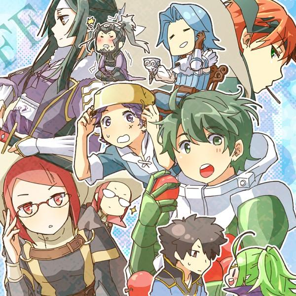Tags: Anime, Pixiv Id 3334382, Fire Emblem: Kakusei, Donny, Laurent (Fire Emblem), Miriel, Sairi, Sort (Fire Emblem), Gaius (Fire Emblem), Viole (Fire Emblem), Ronku, Nono (Fire Emblem), Lenha (Fire Emblem), Fire Emblem: Awakening