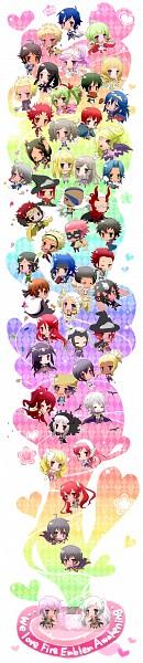 Tags: Anime, Pixiv Id 2160042, Fire Emblem: Kakusei, Emerina, Grego, Gaius (Fire Emblem), Brady, Liz (Fire Emblem), Dezel, Donny, Rufure (Female) (Fire Emblem), Serge (Fire Emblem), Jerome (Fire Emblem), Fire Emblem: Awakening