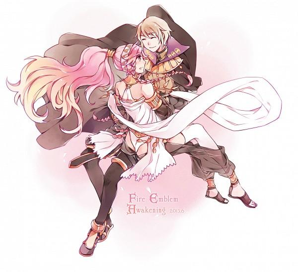 Tags: Anime, Pixiv Id 1053768, Fire Emblem: Kakusei, Henry (Fire Emblem), Olivia (Fire Emblem), Arabian Dancer, Dancer, Fanart, Fanart From Pixiv, Pixiv, Fire Emblem: Awakening