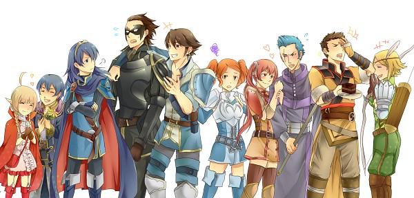 Tags: Anime, Pixiv Id 1866606, Fire Emblem: Kakusei, Brady, Jerome (Fire Emblem), Lucina (Fire Emblem), Selena (Fire Emblem), Azure (Fire Emblem), Noire (Fire Emblem), Marc (Male) (Fire Emblem), Cynthia (Fire Emblem), Nn (Fire Emblem), Wood (Fire Emblem), Fire Emblem: Awakening