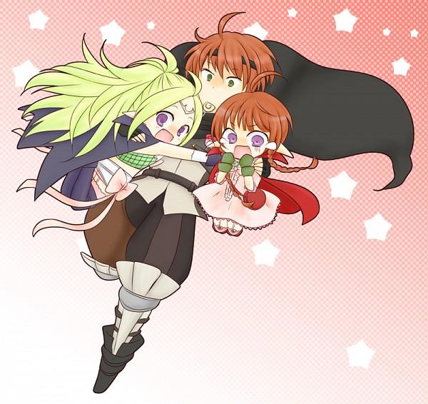 Tags: Anime, Pixiv Id 1025137, Fire Emblem: Kakusei, Nn (Fire Emblem), Gaius (Fire Emblem), Nono (Fire Emblem), Fire Emblem: Awakening