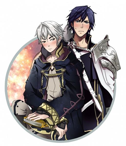 Tags: Anime, Pixiv Id 38250134, Fire Emblem: Kakusei, Chrom (Fire Emblem), Rufure (Male) (Fire Emblem), Fire Emblem: Awakening