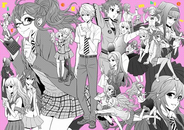 Tags: Anime, Pixiv Id 2969641, Fire Emblem: Kakusei, Cynthia (Fire Emblem), Liz (Fire Emblem), Olivia (Fire Emblem), Selena (Fire Emblem), Chiki (Fire Emblem), Sariya (Fire Emblem), Nn (Fire Emblem), Nono (Fire Emblem), Anna (Fire Emblem), Dezel, Fire Emblem: Awakening
