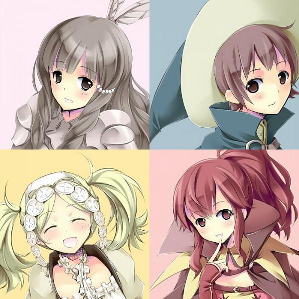 Tags: Anime, Pixiv Id 14232506, Fire Emblem: Kakusei, Liz (Fire Emblem), Anna (Fire Emblem), Licht (Fire Emblem), Smia, Fanart From Pixiv, Pixiv, Fanart, Fire Emblem: Awakening