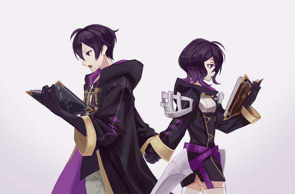 Tags: Anime, Pixiv Id 28853347, Fire Emblem: Kakusei, Marc (Female) (Fire Emblem), Marc (Male) (Fire Emblem), Fire Emblem: Awakening