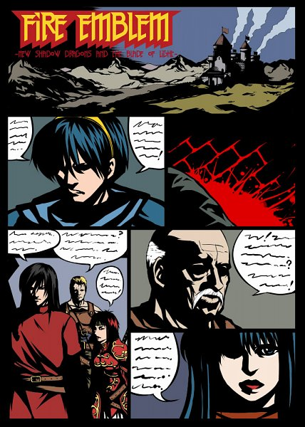 Tags: Anime, Flo, Fire Emblem: Monshou no Nazo, Oguma (Fire Emblem), Marth (Fire Emblem), Minerva (Fire Emblem), Riff (Fire Emblem), Sheeda (Fire Emblem), Nabarl (Fire Emblem), Fire Emblem Mystery Of The Emblem