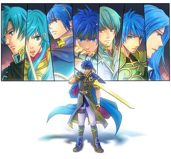 Tags: Anime, Hitohana, Fire Emblem: Path of Radiance, Fire Emblem: Monshou no Nazo, Fire Emblem: Seima no Kouseki, Eirik (Fire Emblem), Luchino, Marth (Fire Emblem), Geoffrey (Fire Emblem), Ike, Heanius (Fire Emblem), Ephraim (Fire Emblem), Fire Emblem Mystery Of The Emblem