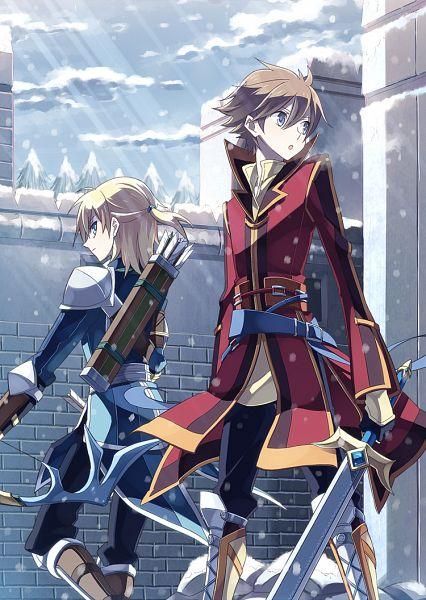 Tags: Anime, Ryolove, Fire Emblem: Path of Radiance, Leonardo (Fire Emblem), Edward (Fire Emblem), Mobile Wallpaper