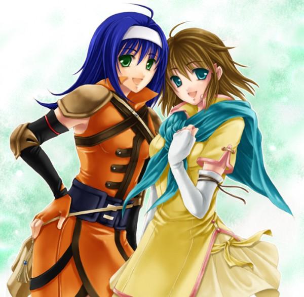 Tags: Anime, Hagiwara Rin, Fire Emblem: Path of Radiance, Mist (Fire Emblem), Wayu (Fire Emblem), Pixiv