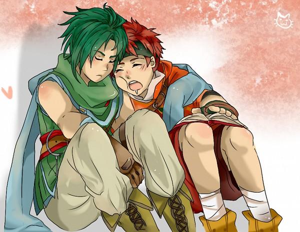 Tags: Anime, Seheia, Fire Emblem: Path of Radiance, Sothe, Topuck, Handkerchief, deviantART