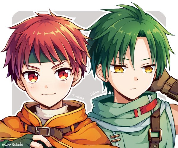 Tags: Anime, Pixiv Id 4519943, Fire Emblem: Path of Radiance, Sothe, Topuck
