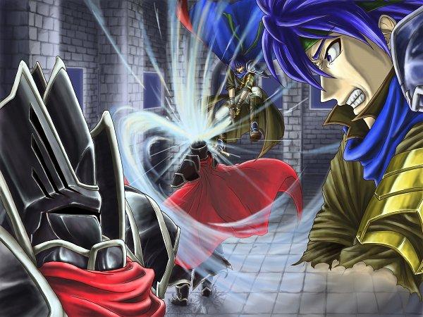 Tags: Anime, Pixiv Id 623745, Fire Emblem: Path of Radiance, Shikkoku no Kishi, Ike