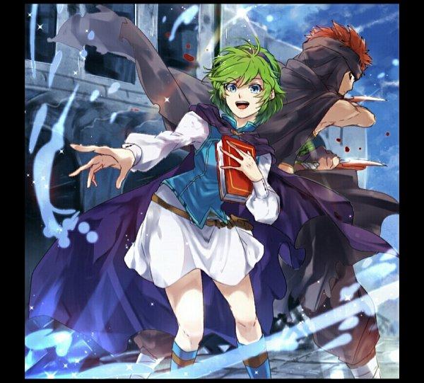 Tags: Anime, Pixiv Id 10422681, Fire Emblem: Rekka no Ken, Nino (Fire Emblem), Jaffar (Fire Emblem), Fire Emblem: Blazing Sword