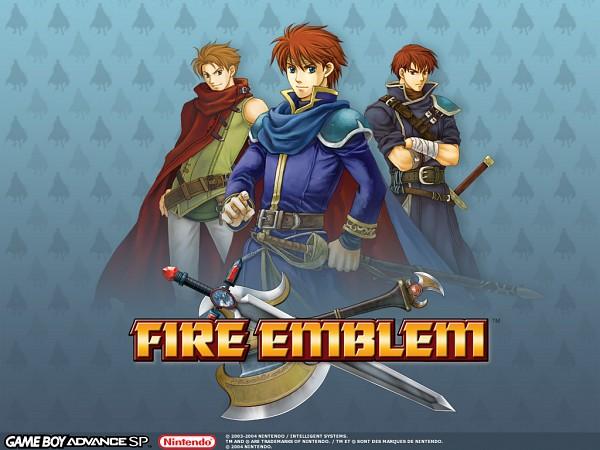 Tags: Anime, Fire Emblem: Rekka no Ken, Leyvan, Eliwod, Matthew (Fire Emblem), Official Art, Wallpaper, Fire Emblem: Blazing Sword