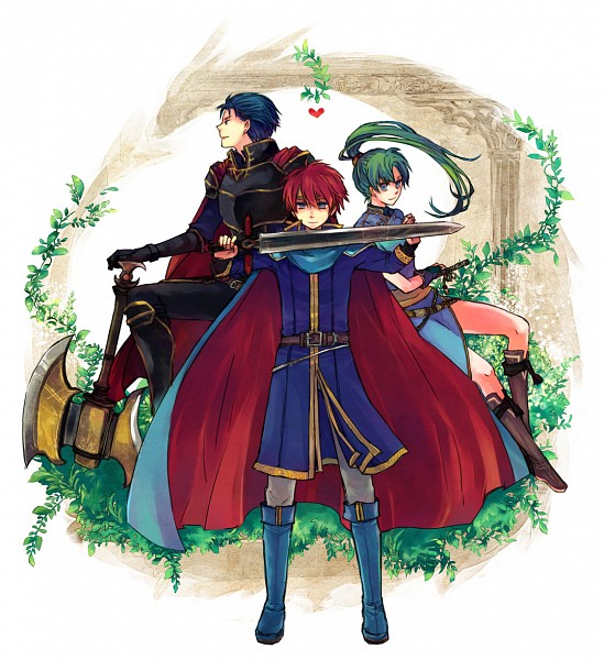 Tags: Anime, Pixiv Id 109761, Fire Emblem: Rekka no Ken, Hector (Fire Emblem), Eliwod, Lyn (Fire Emblem), Fire Emblem: Blazing Sword