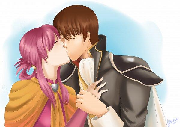 Tags: Anime, Pixiv Id 7054209, Fire Emblem: Seisen no Keifu, Cuan (Fire Emblem), Ethlin (Fire Emblem)