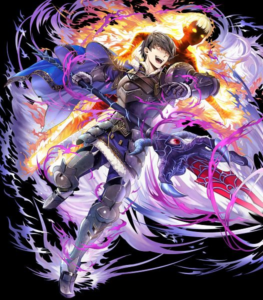 Tags: Anime, Anemonade, Intelligent Systems, Fire Emblem Heroes, Berkut (Fire Emblem), Linea (Fire Emblem), Mouthless, Inhuman, Official Art