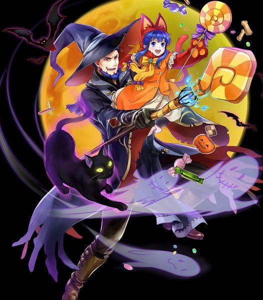 Tags: Anime, Wada Sachiko, Intelligent Systems, Fire Emblem Heroes, Lilina (Fire Emblem), Hector (Fire Emblem), Official Art