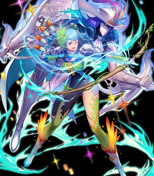Tags: Anime, Kakage, Intelligent Systems, Genei Ibun Roku #FE, Fire Emblem Heroes, Yumizuru Eleanora, Viole (Fire Emblem), Viole (Genei Ibun Roku #FE), Official Art