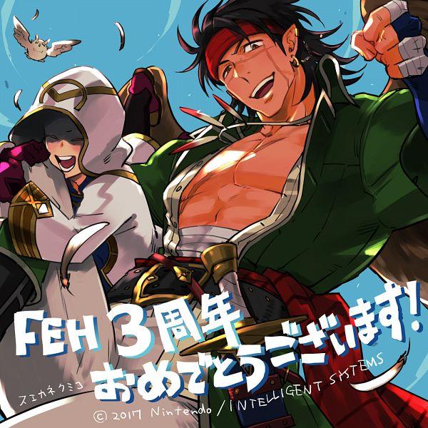 Tags: Anime, Suekane Kumiko, Intelligent Systems, Fire Emblem Heroes, Eclat (Fire Emblem), Tibarn, Feh, Official Art