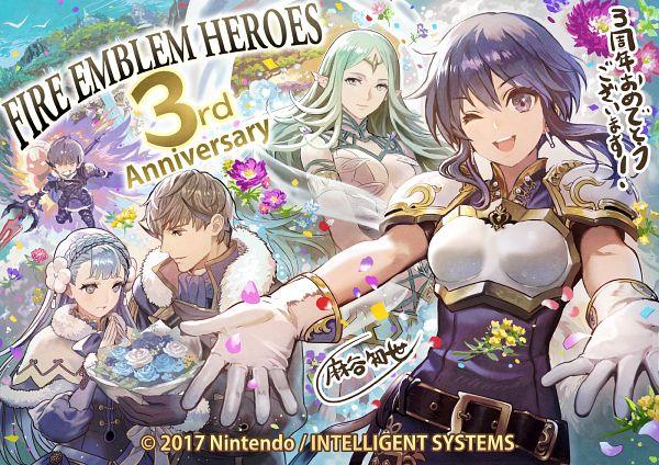 Tags: Anime, Anemonade, Intelligent Systems, Fire Emblem Heroes, Linea (Fire Emblem), Berkut (Fire Emblem), Lakche (Fire Emblem), Naga (Fire Emblem), Official Art