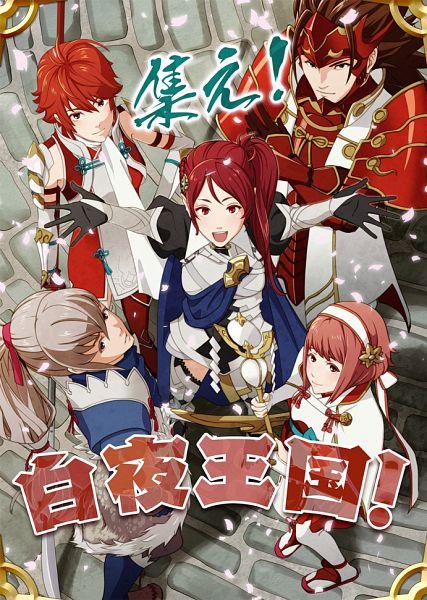 Tags: Anime, Pixiv Id 5173803, Fire Emblem If, Sakura (Fire Emblem), Hinoka (Fire Emblem), Kamui (Female) (Fire Emblem), Ryoma (Fire Emblem), Takumi (Fire Emblem), Mobile Wallpaper, Pixiv, Fanart, Fanart From Pixiv, PNG Conversion, Fire Emblem Fates