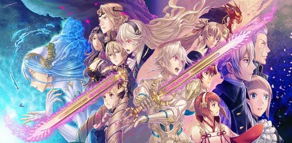 Tags: Anime, Amatari Sukuzakki, Fire Emblem If, Sakura (Fire Emblem), Kamui (Male) (Fire Emblem), Leon (Fire Emblem), Elise (Fire Emblem), Kamui (Female) (Fire Emblem), Takumi (Fire Emblem), Hinoka (Fire Emblem), Ryoma (Fire Emblem), Joker (Fire Emblem), Camilla (Fire Emblem), Fire Emblem Fates