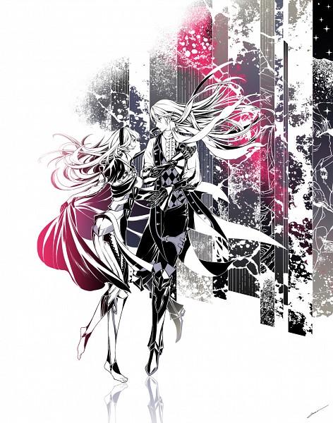 Tags: Anime, Amatari Sukuzakki, Fire Emblem If, Kamui (Female) (Fire Emblem), Joker (Fire Emblem), Tumblr, Fire Emblem Fates