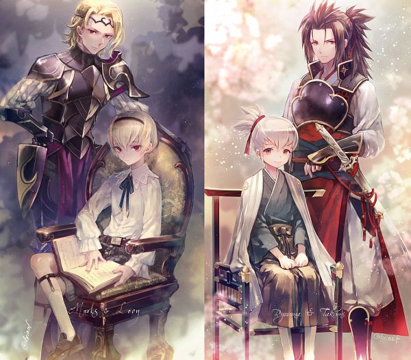 Tags: Anime, Miyuki Ruria, Fire Emblem If, Ryoma (Fire Emblem), Marx (Fire Emblem), Leon (Fire Emblem), Takumi (Fire Emblem), Twitter, Tumblr, Fanart, Fire Emblem Fates