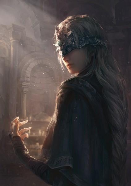 Tags: Anime, Pixiv Id 12572640, Dark Souls, Dark Souls III, Fire Keeper, Archway, Pixiv, Fanart, Fanart From Pixiv