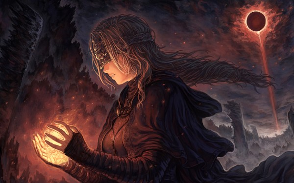 Tags: Anime, Pixiv Id 418816, Dark Souls III, Fire Keeper, Fanart, Fanart From Pixiv, Pixiv