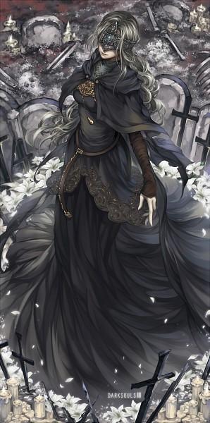 Tags: Anime, Pixiv Id 2794717, Dark Souls III, Fire Keeper, Fanart From Pixiv, Pixiv, Fanart