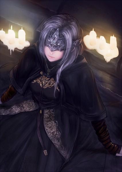 Tags: Anime, Pixiv Id 234241, Dark Souls III, Fire Keeper, Fanart From Pixiv, Pixiv, Fanart