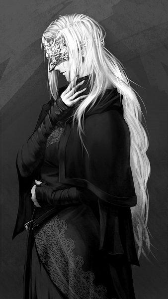 Tags: Anime, Pixiv Id 5663452, Dark Souls III, Fire Keeper, Pixiv, Fanart, Fanart From Pixiv