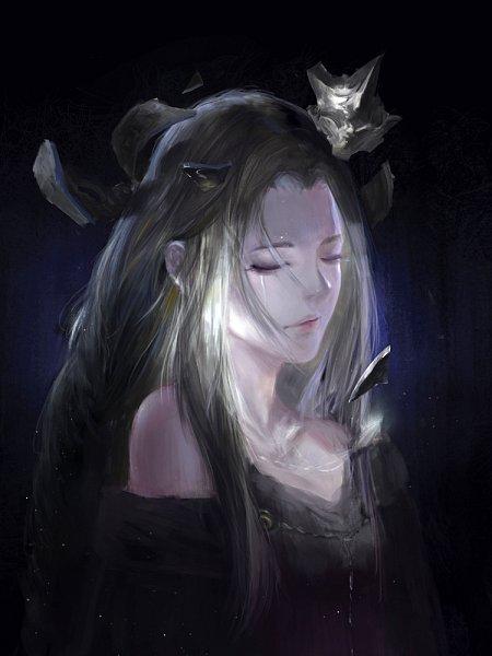Tags: Anime, Pixiv Id 14588159, Dark Souls III, Fire Keeper, Pixiv, Fanart, Fanart From Pixiv