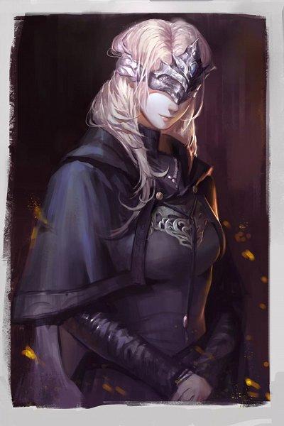 Tags: Anime, Pixiv Id 3922376, Dark Souls III, Fire Keeper, Fanart From Pixiv, Pixiv, Fanart