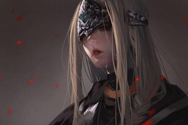 Tags: Anime, Pixiv Id 11386213, Dark Souls III, Fire Keeper, Fanart From Pixiv, Pixiv, Fanart