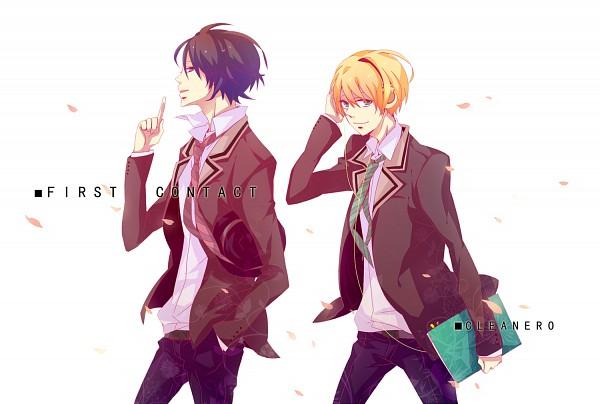 Tags: Anime, Pixiv Id 1647113, nero (Utaite), clear (Nico Nico Singer), Nico Nico Singer, First Contact, Fanart, Nico Nico Douga