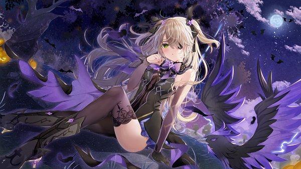 Tags: Anime, Mafuyu (Pixiv5229572), Genshin Impact, Oz (Genshin Impact), Fischl, Fanart From Pixiv, Pixiv, Fanart