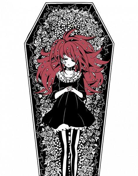 Tags: Anime, Chino Machico, Happy Tree Friends, Flaky, Coffin, Pixiv, Fanart From Pixiv, Fanart