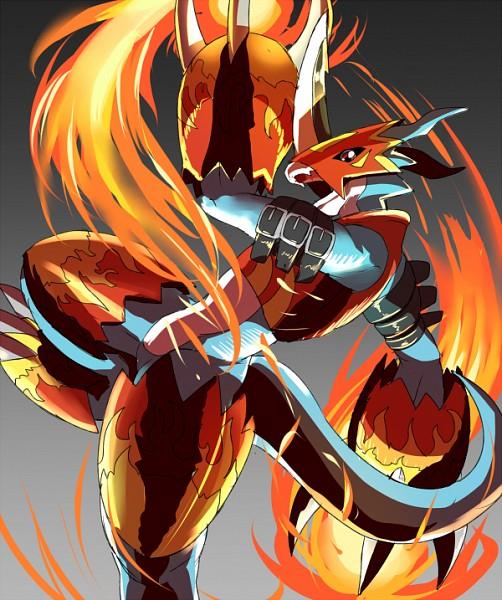 Flamedramon - Digimon Adventure