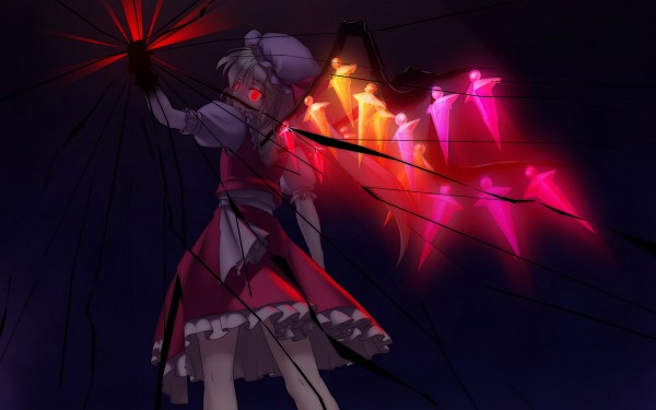 Tags: Anime, Jerry, Touhou, Flandre Scarlet, Wallpaper