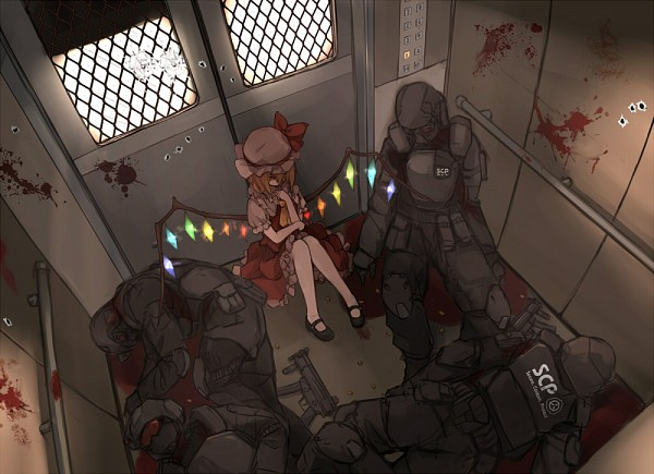Tags: Anime, Xiao Qiang (overseas), SCP Foundation, Touhou, Flandre Scarlet, Elevator, Pixiv