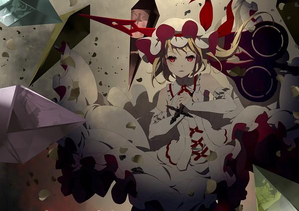 Tags: Anime, Yoshino Ryou, Touhou, Patchouli Knowledge, Izayoi Sakuya, Remilia Scarlet, Hong Meiling, Flandre Scarlet, Character Fusion, Laevatein, Spear the Gungnir, Philosopher's Stone (Touhou), Element