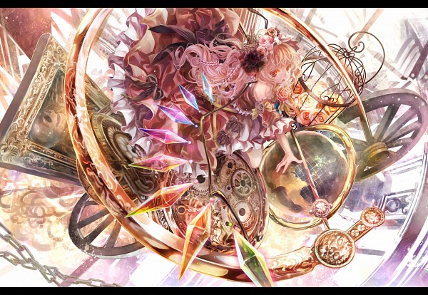 Tags: Anime, Afraco, Touhou, Flandre Scarlet, Globe, Pixiv, Fanart From Pixiv, Fanart